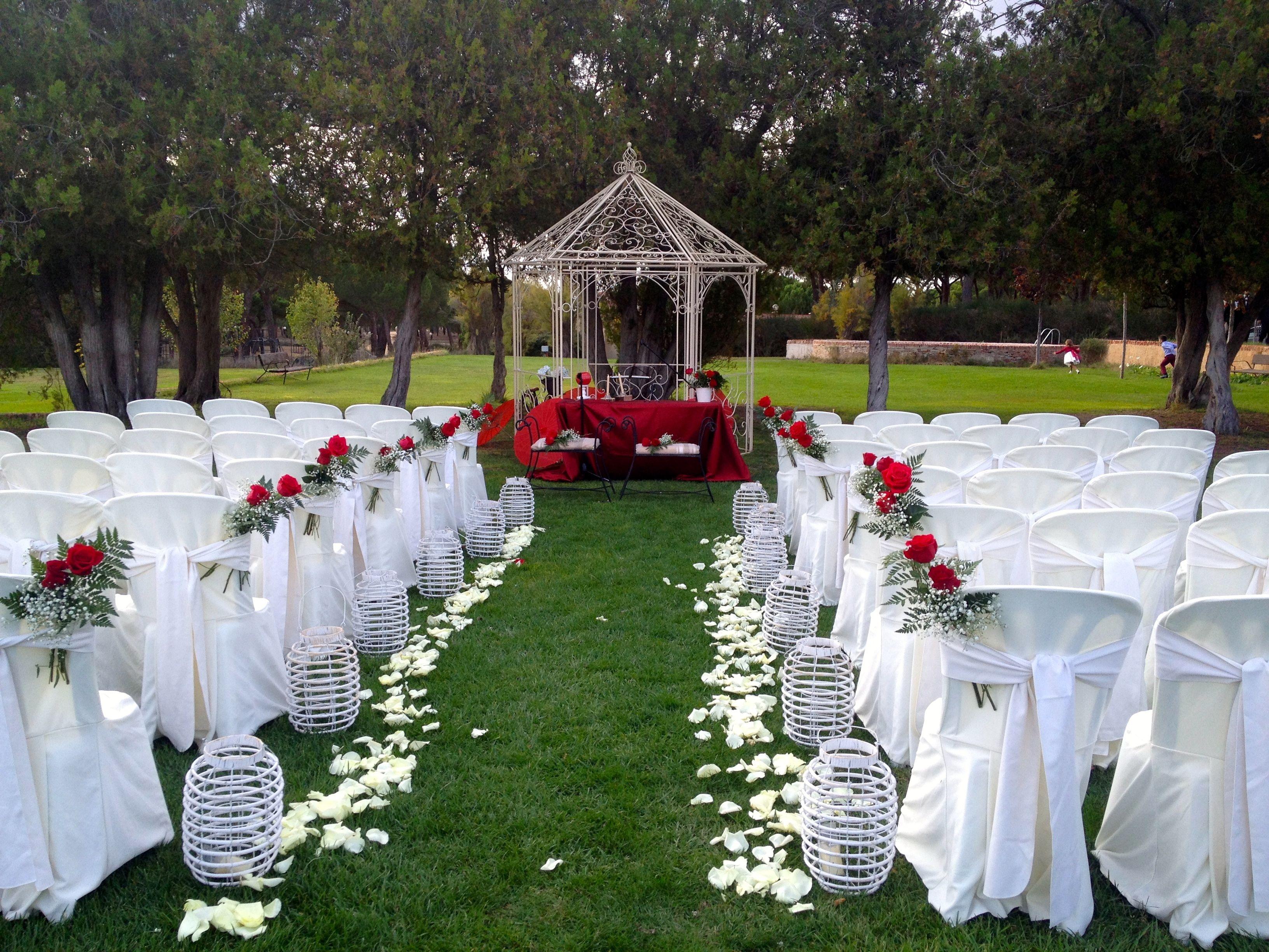 La boda de mar a y miguel la posada real del pinar - Lugares originales para casarse ...